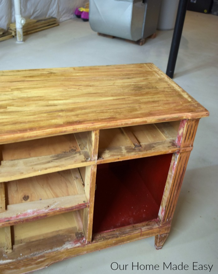How To Easily Remove Paint Varnish From Old Furniture Our Home