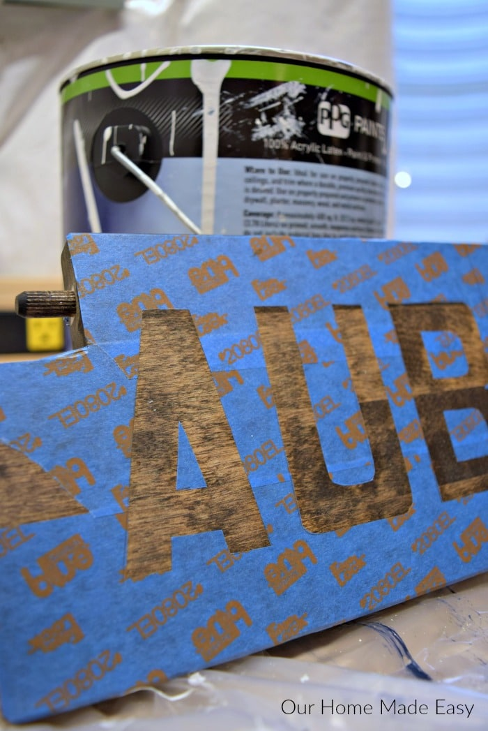 Here is an way how to stencil letters without any fancy tools. It's simply a few items to make your projects look professional-- but without the cost!