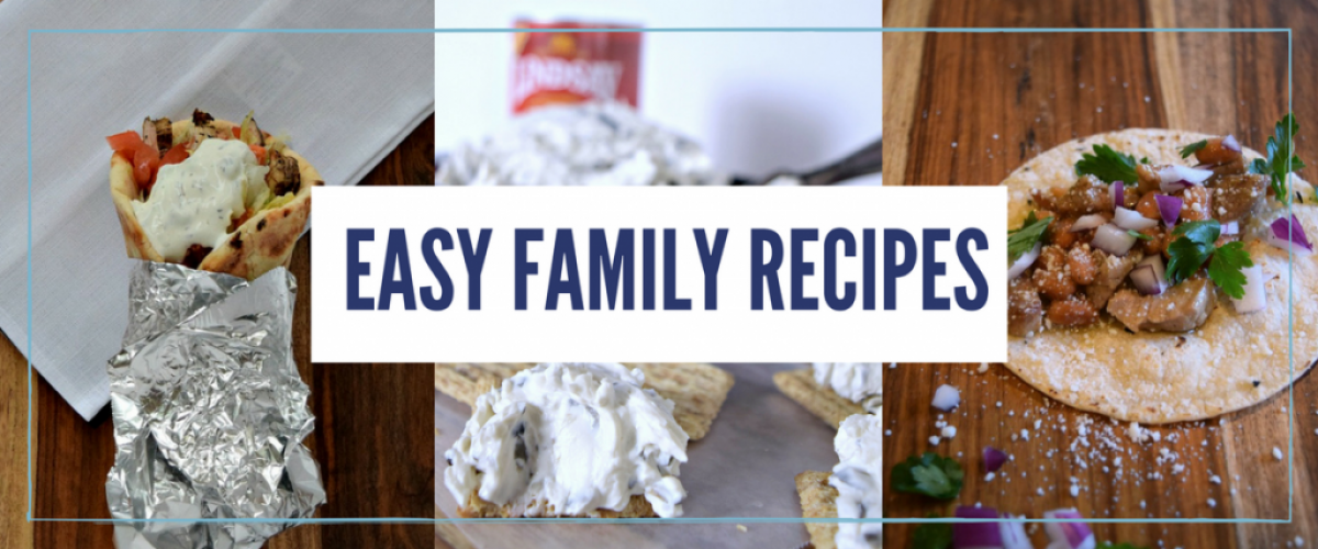 Easy family recipes