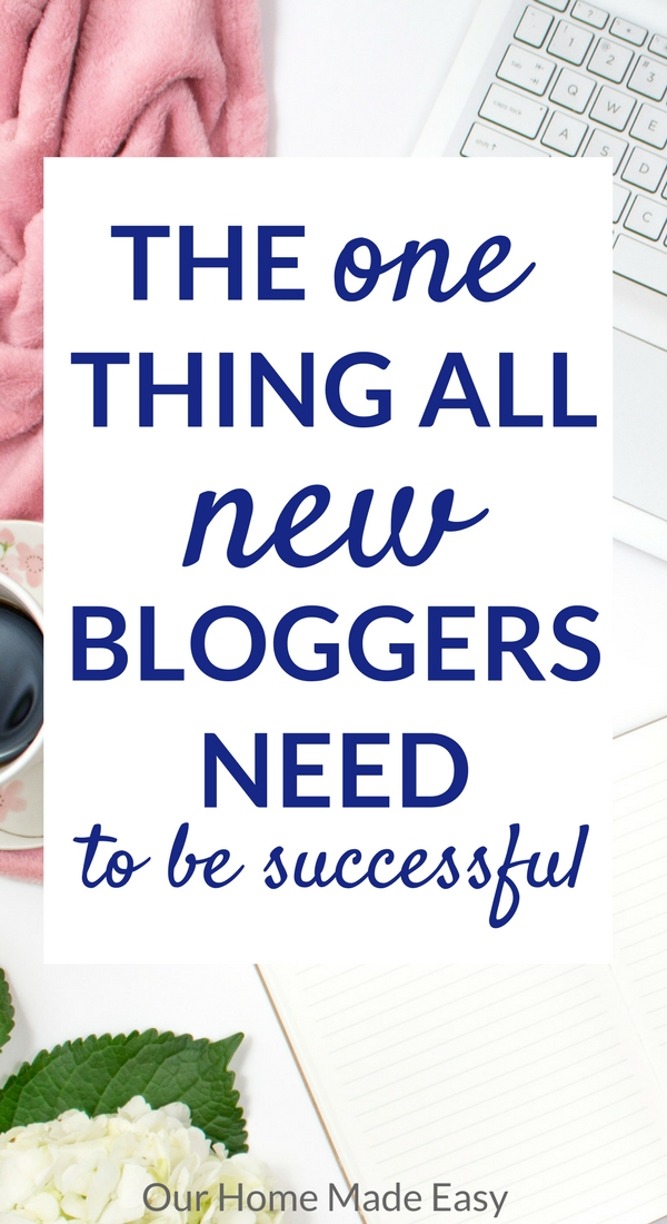 Learn the one thing all new bloggers need! Finally start a successful blog with Building a Framework