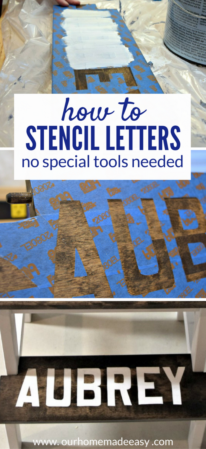 How To Stencil With Paint Perfectly No Fancy Tools Needed Our