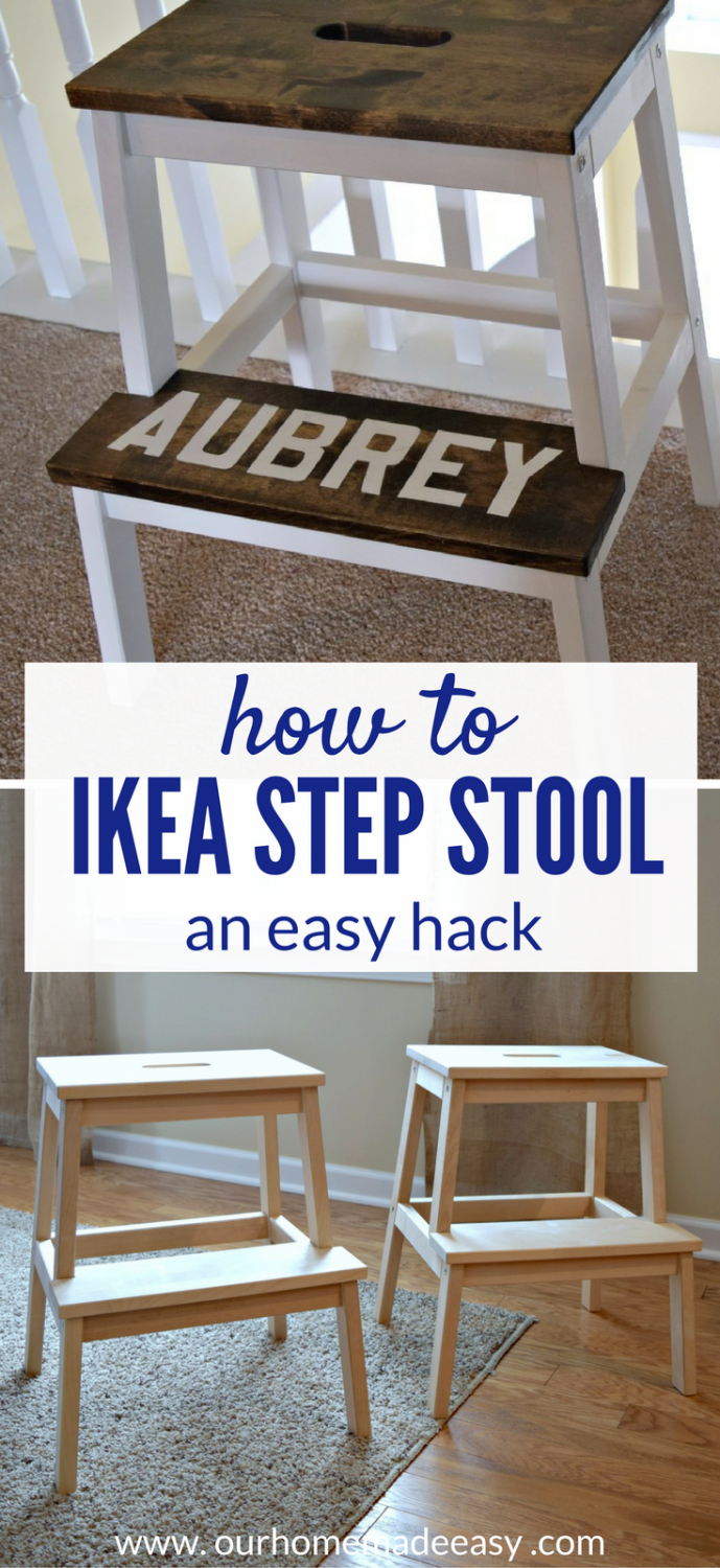 Awesome Easy Ikea Bekvam Stool Hack Our Home Made Easy Bralicious Painted Fabric Chair Ideas Braliciousco
