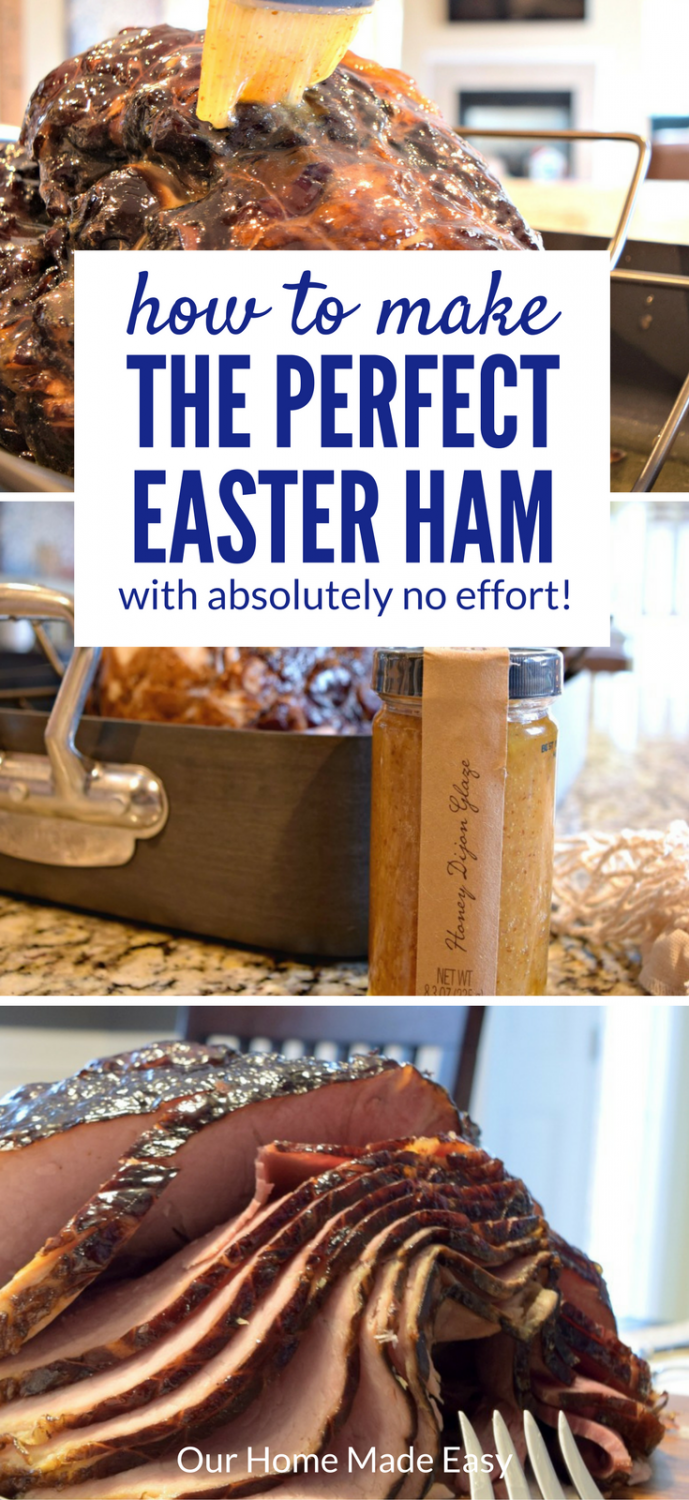 Save time and serve the perfect Easter ham! It tastes so delicious! #sponsored