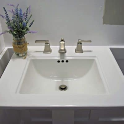 How to Install a Pedestal Sink [ORC Week 3]