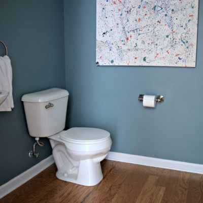 Planning a Budget Powder Room Makeover [One Room Challenge, Week 1]