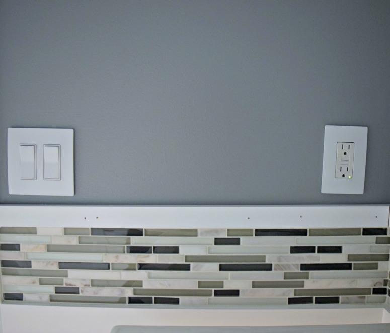 mosaic accent tile is a great way to add color and design to a bathroom makeover