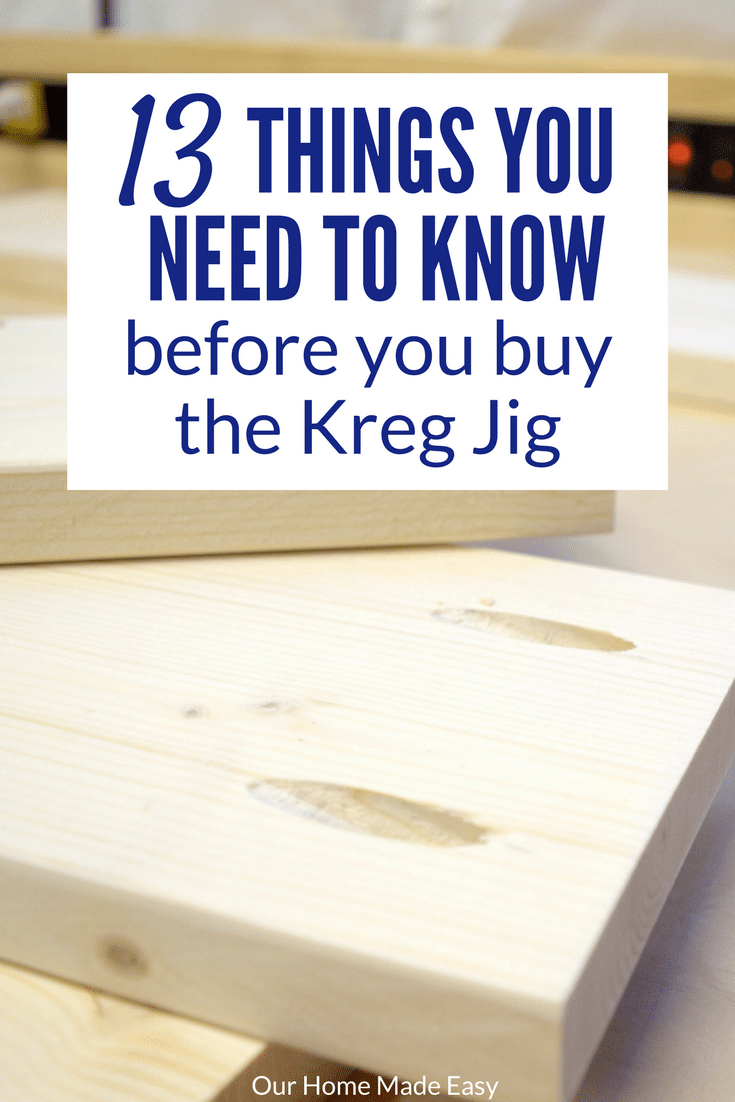 13 things you need to know before you buy the kreg jig for Home need things