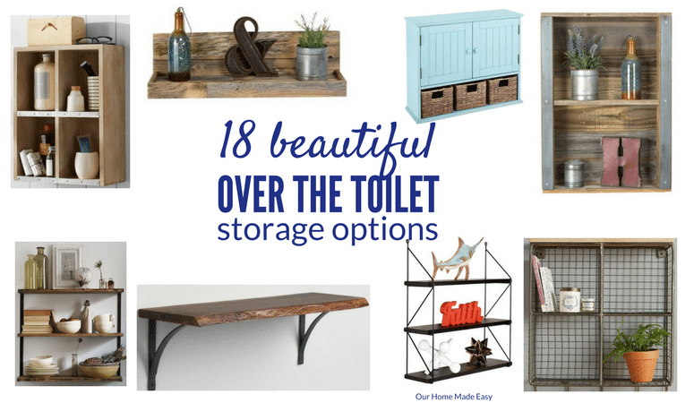 18 Ideas For Small Bathroom Storage! [ORC Week 5]