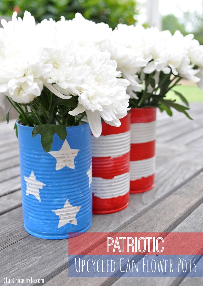 Here are 19 easy and inexpensive 4th of July decor projects! Click to see them all choose your next project for the 4th of July!