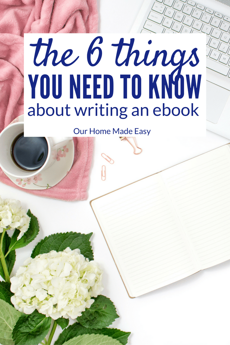Writing an eBook is pretty easy when you have a great foundation. But first, you need to know the basics & how I wrote my own eBook. Click to see the steps!