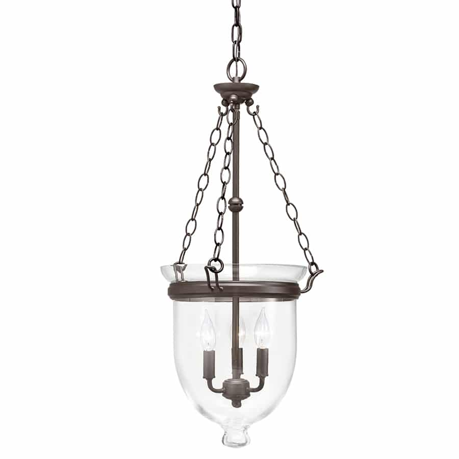 This new kitchen island pendant lighting adds brightness and style to our kitchen