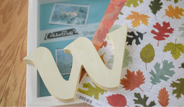 A Cute Monogram Shadowbox For Every Season!