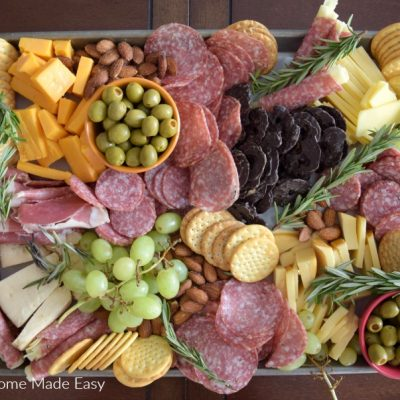 The Easiest 15 Minute Appetizer [Columbus Craft Charcuterie]