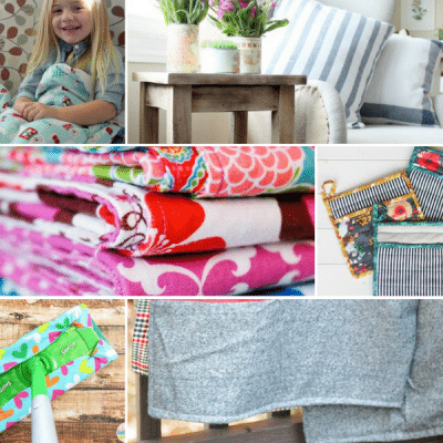 23 Easy Sewing Projects for Your Home