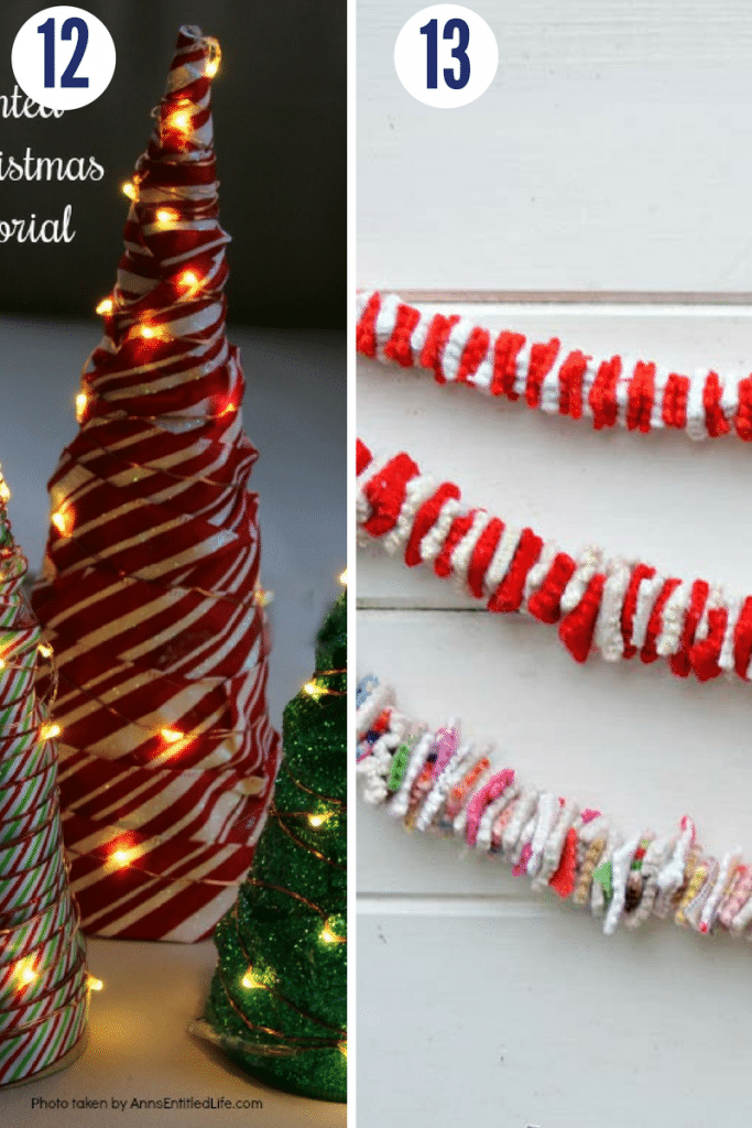 These 30-minute Christmas crafts are the perfect way to quickly DIY some holiday decor