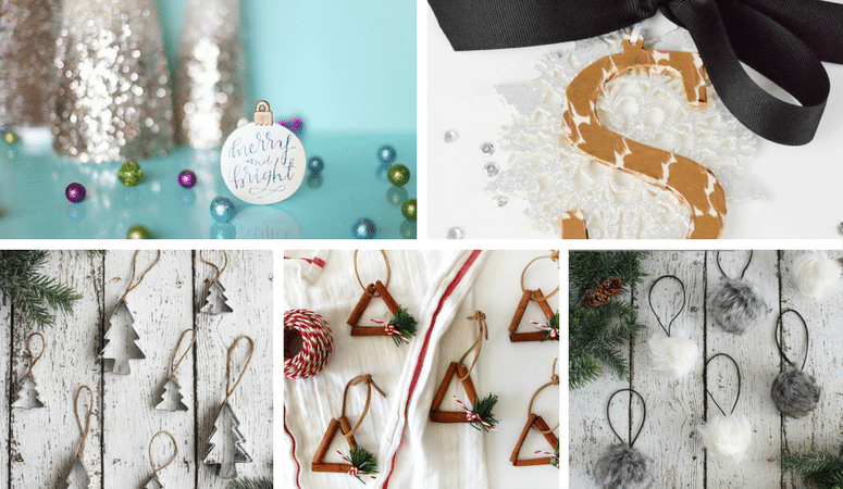 19 Easy 30 Minute Christmas Ornaments