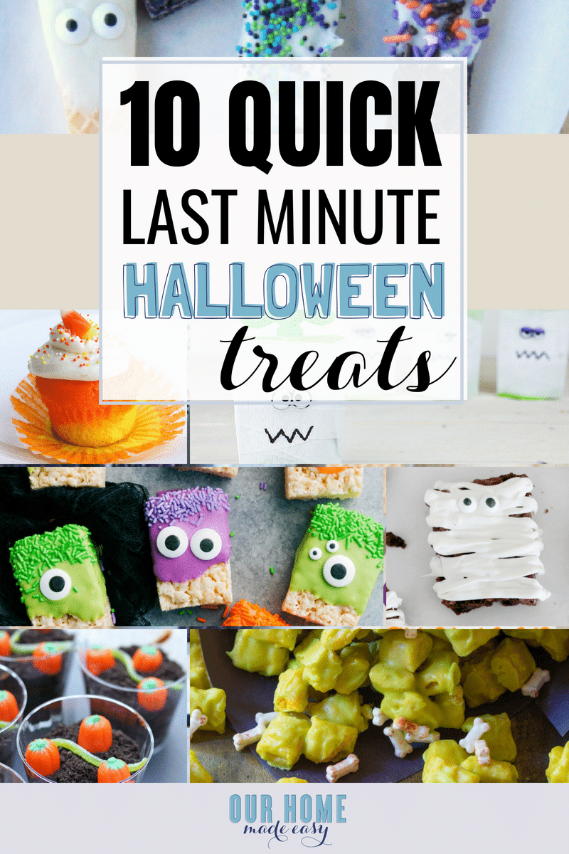 This quick and easy Halloween treats are safe for schools, perfect for last-minute Halloween parties, and the kids will love them!