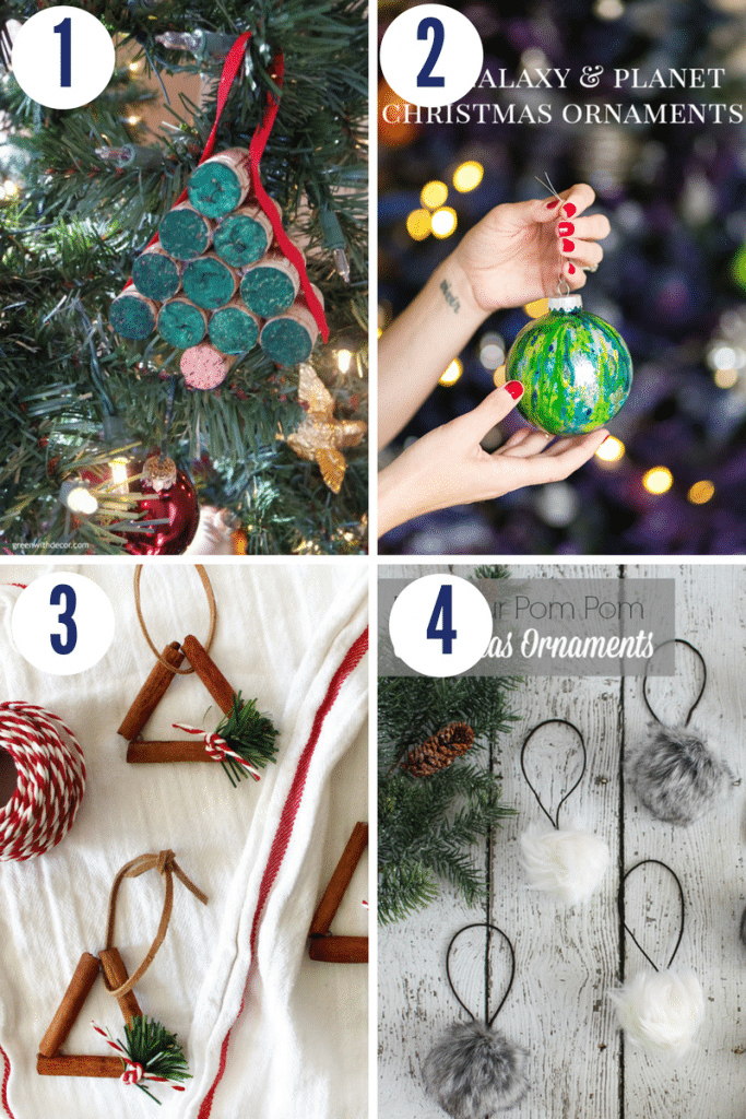Make these Christmas ornaments in less than 30 minutes! They are super easy and cute. Click to see all 19 ornaments here!