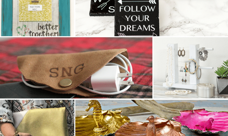 Here are more than 35 easy homemade gifts for you to make! Whether it's home decor, kitchen, or food, you have SO MANY choices! Check out the DIY gifts here!