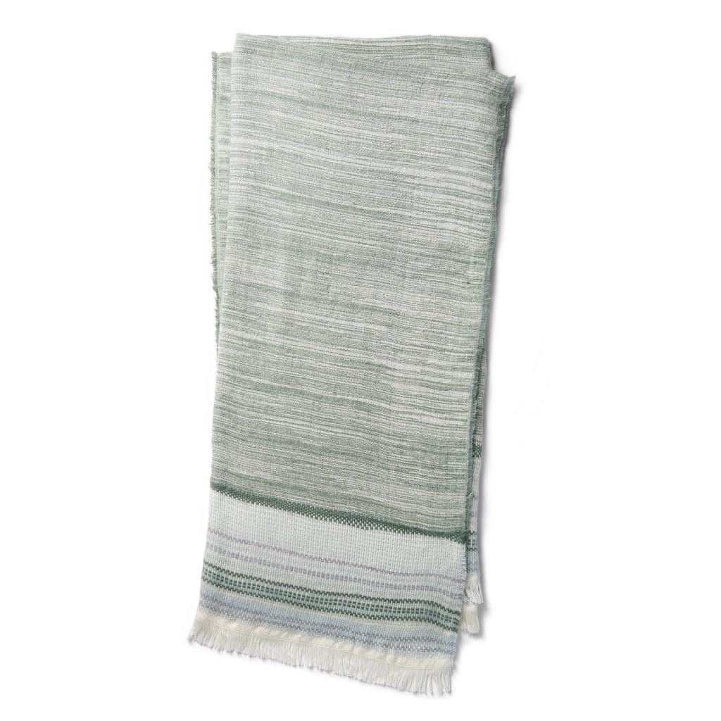 A simple throw blanket is a perfect farmhouse style touch and a great gift