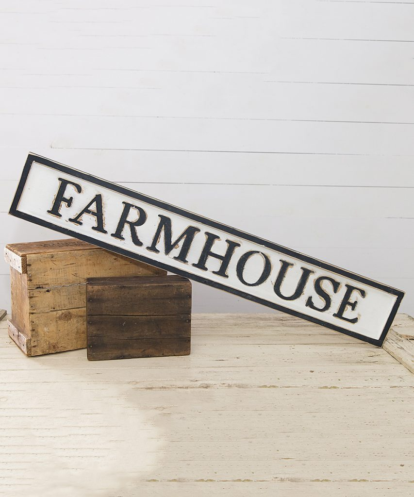 This Farmhouse sign is the essence of farmhouse style decor and the perfect gift