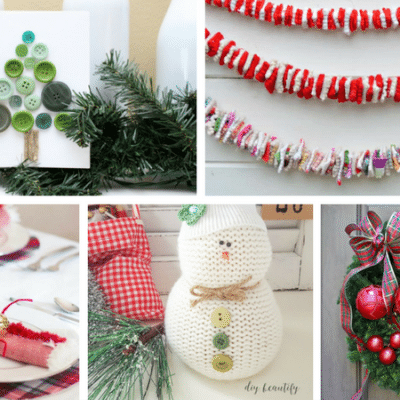 The 18 Easiest 30 Minute Christmas Crafts Ever!