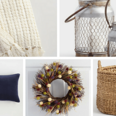 How to Create a Cozy Fall Mantle