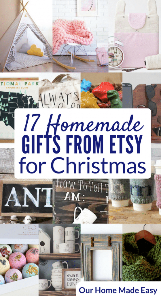 Here are the best Etsy gifts for everyone on your list. There are 17 great options when you want a homemade gift-- but don't have time to make it yourself!