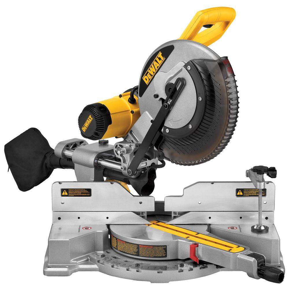this Dewalt 12 in Miter Saw is the perfect tool for DIY projects, your husband will get so much use out of it