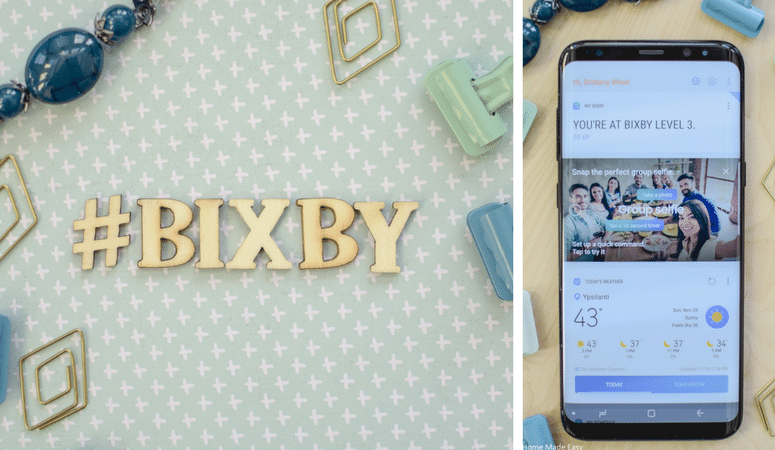 Every busy mom needs to make her life easier! Use the Samsung Galaxy S8+ Bixby to save you so much time! See all 22 reasons here!