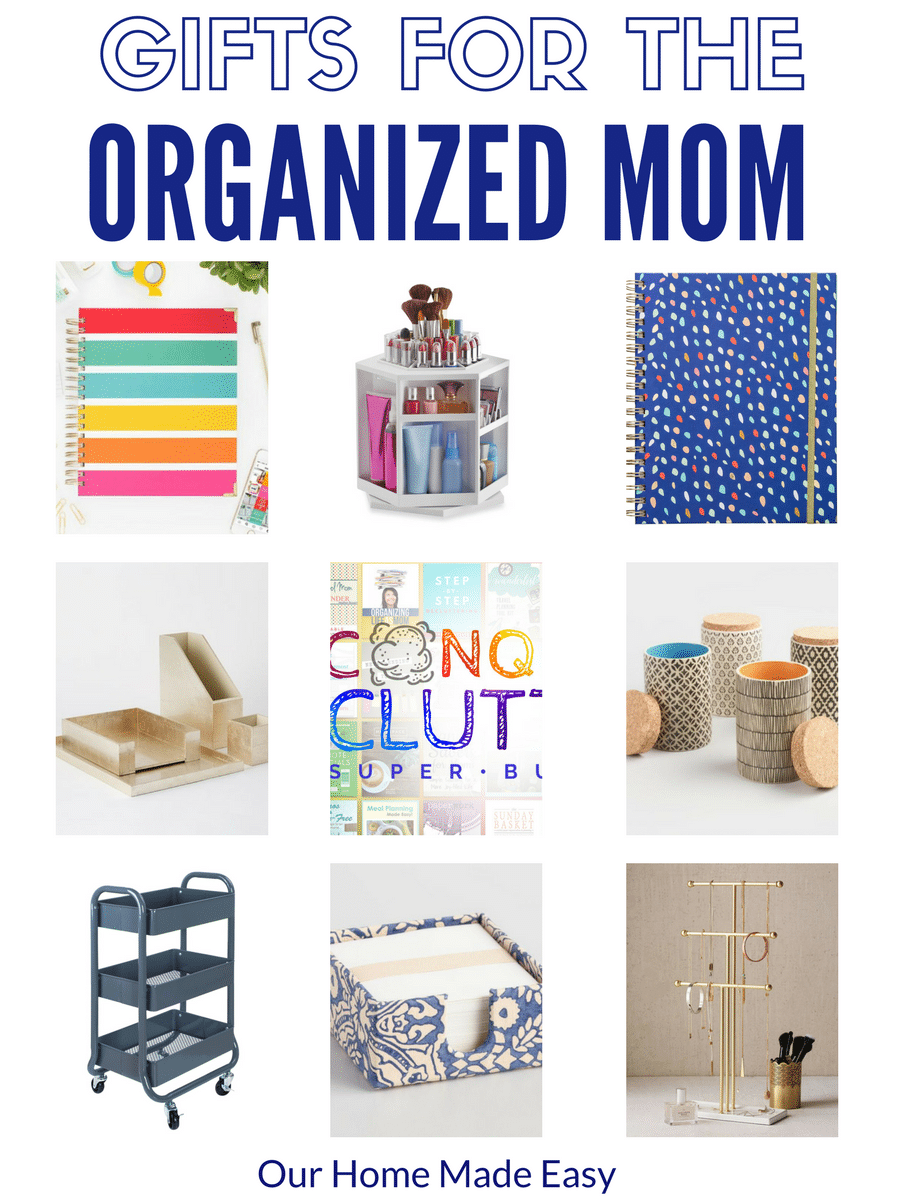 These are perfect gifts for organized moms! They are a treat that will allow you to staysuper organized for the entire year!