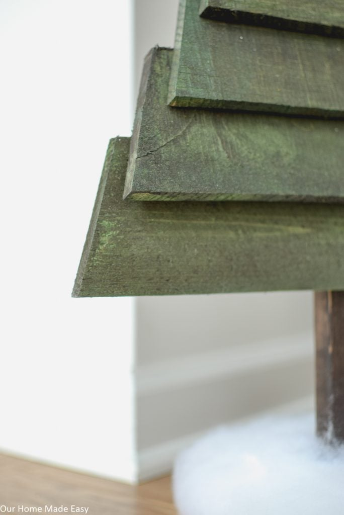 Connect your pallets--you can do this with high-strength wood glue or nails.