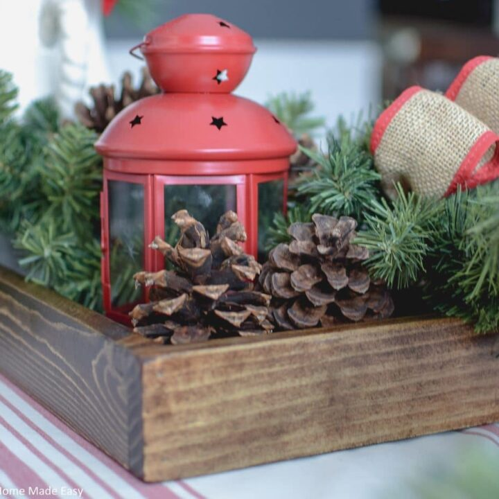Quick & Easy Wood Serving Tray