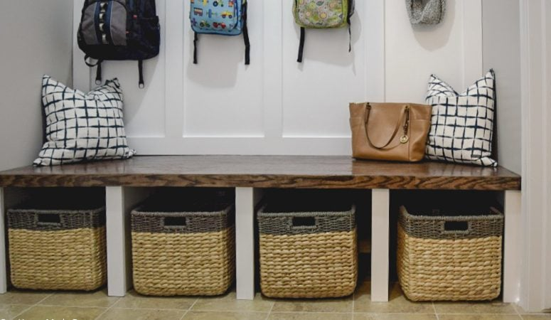 Our DIY Mudroom Reveal!