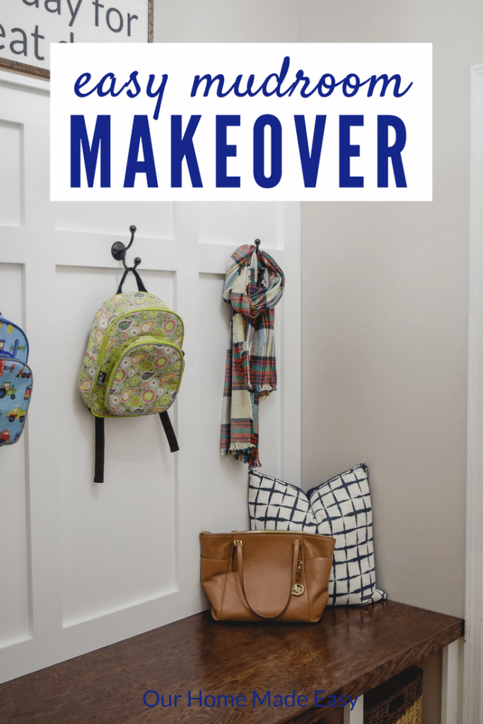 A mudroom makeover, DIY mudroom,