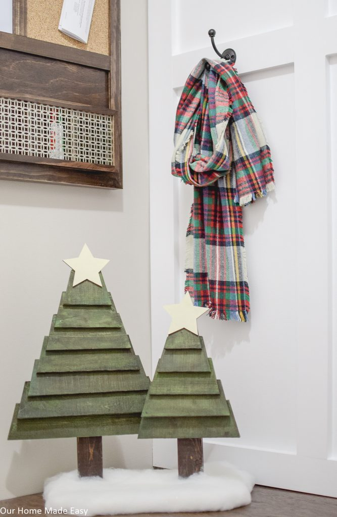How To Make Easy Pallet Christmas Trees Our Home Made Easy