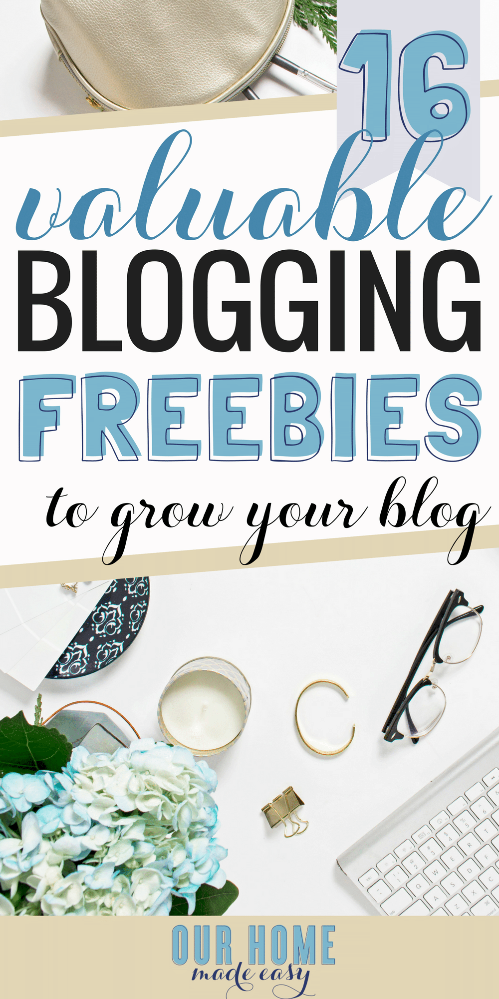 Want the best free blogging resources? I've found 16 of my favorite from successful bloggers! Click here to learn from the best-- for free! #blogging #howtoblog #freebies