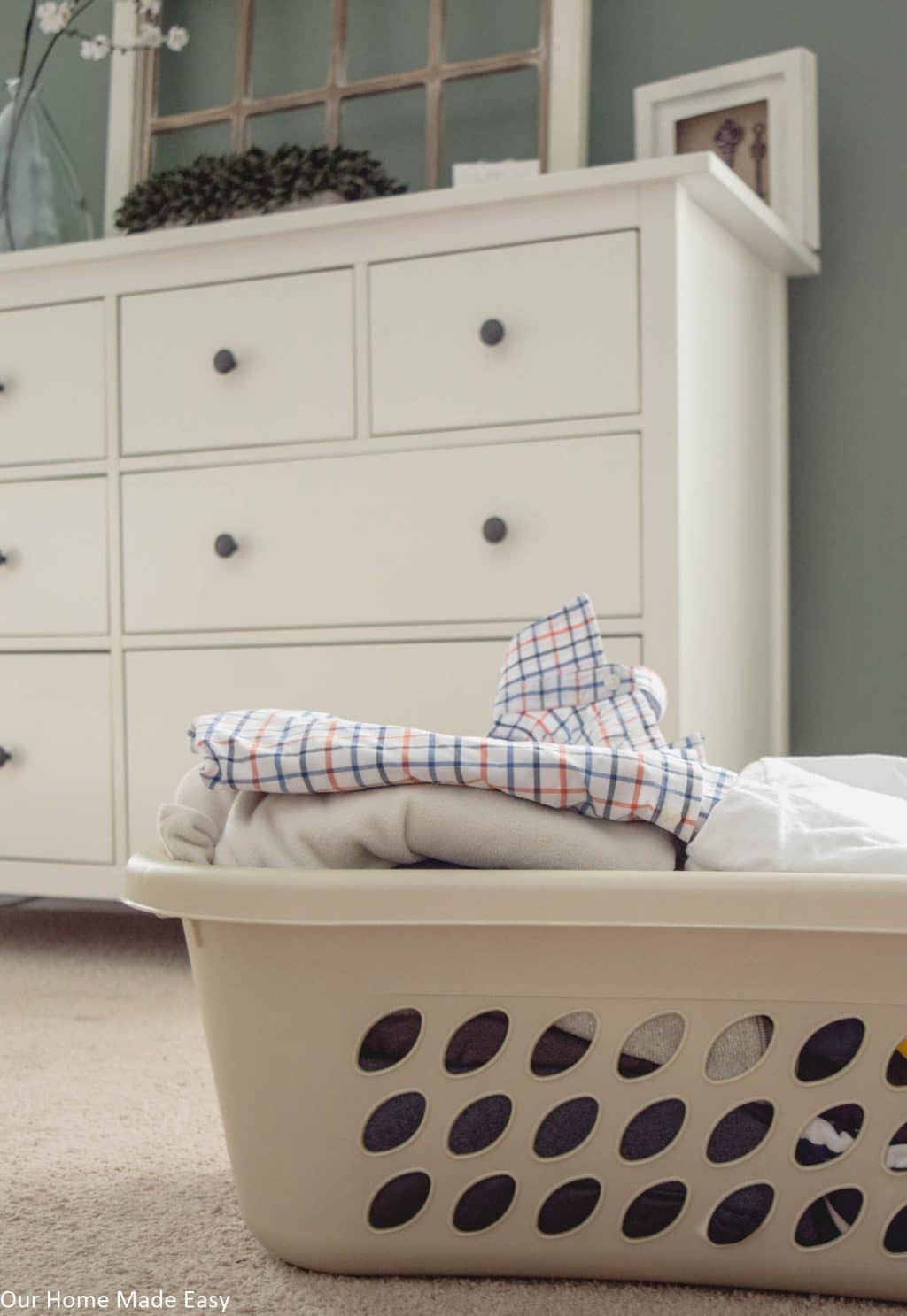 Doing laundry in a house instantly makes your dwelling feel more like home