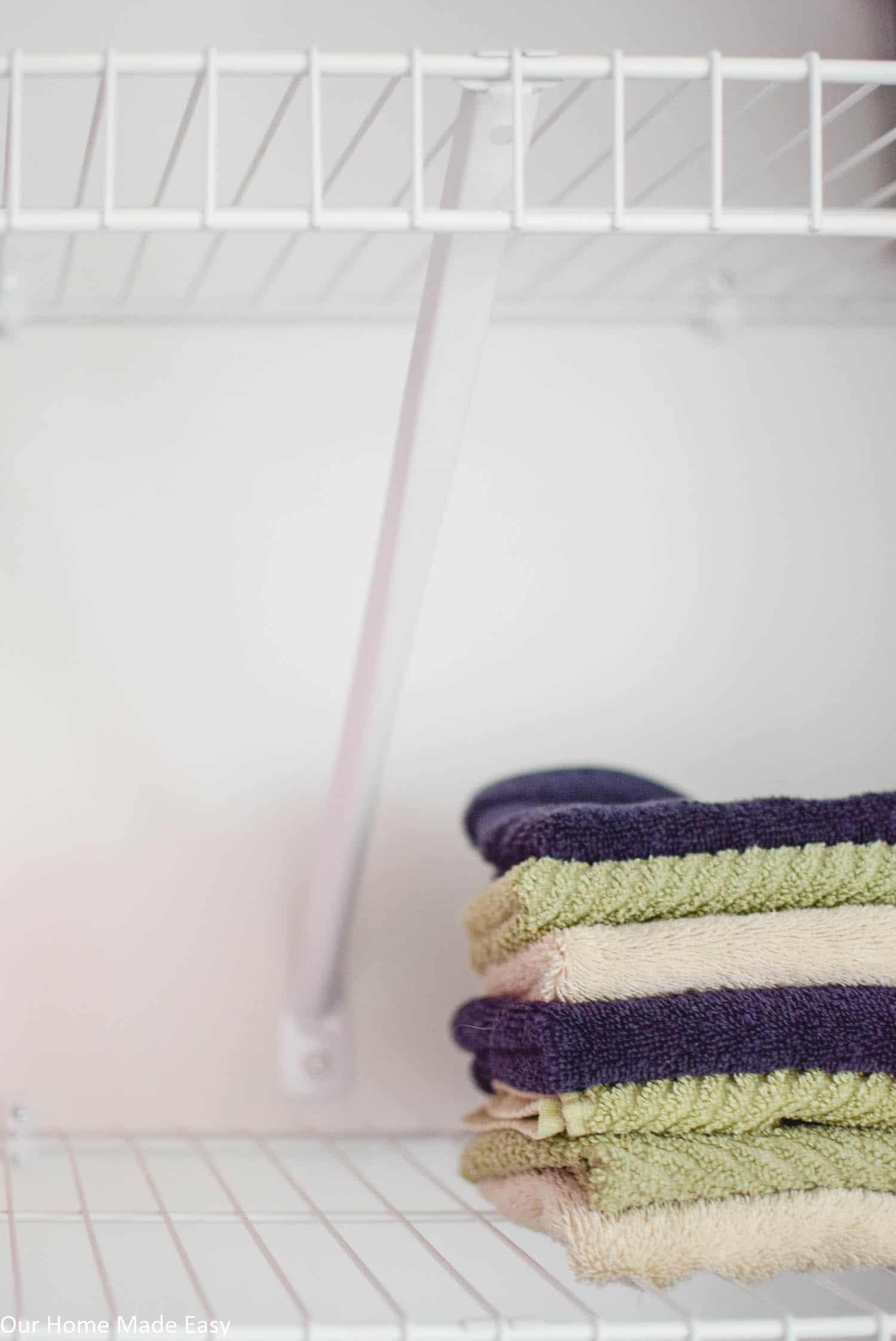 Bathroom Linen Closet Reveal Our Home Made Easy