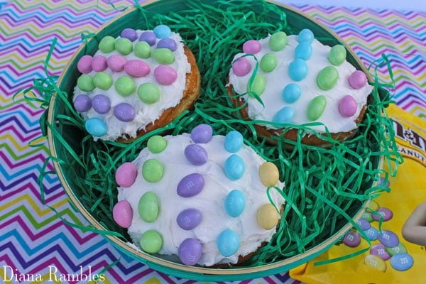 These Easter egg donuts are the perfect Easter treat for brunch on Easter morning
