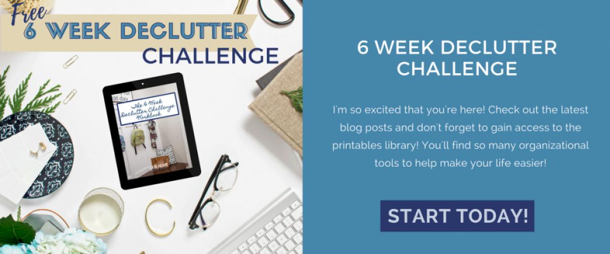 Home 6 Week Declutter Challenge