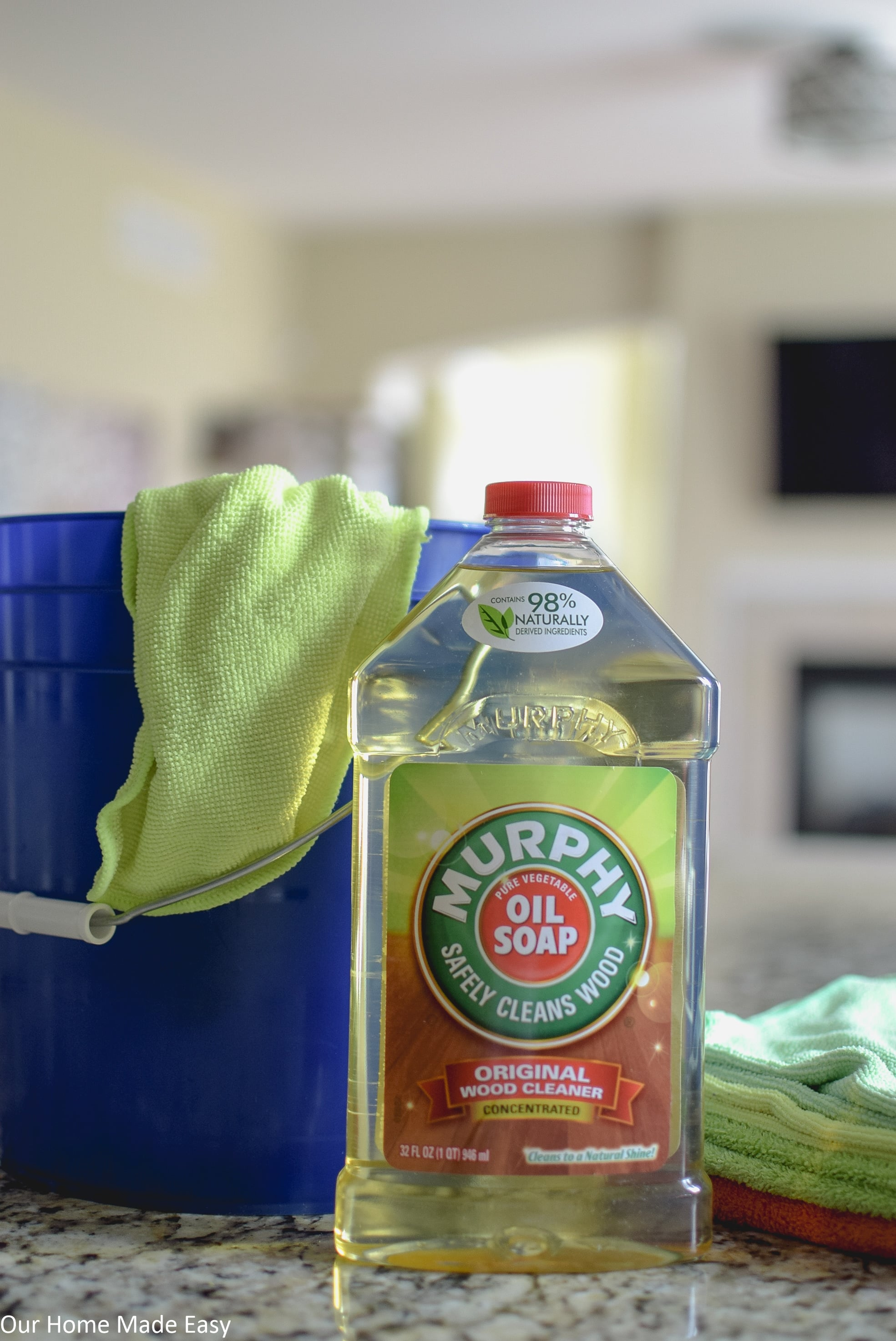 The Simplest Way to Clean Kitchen Cabinets