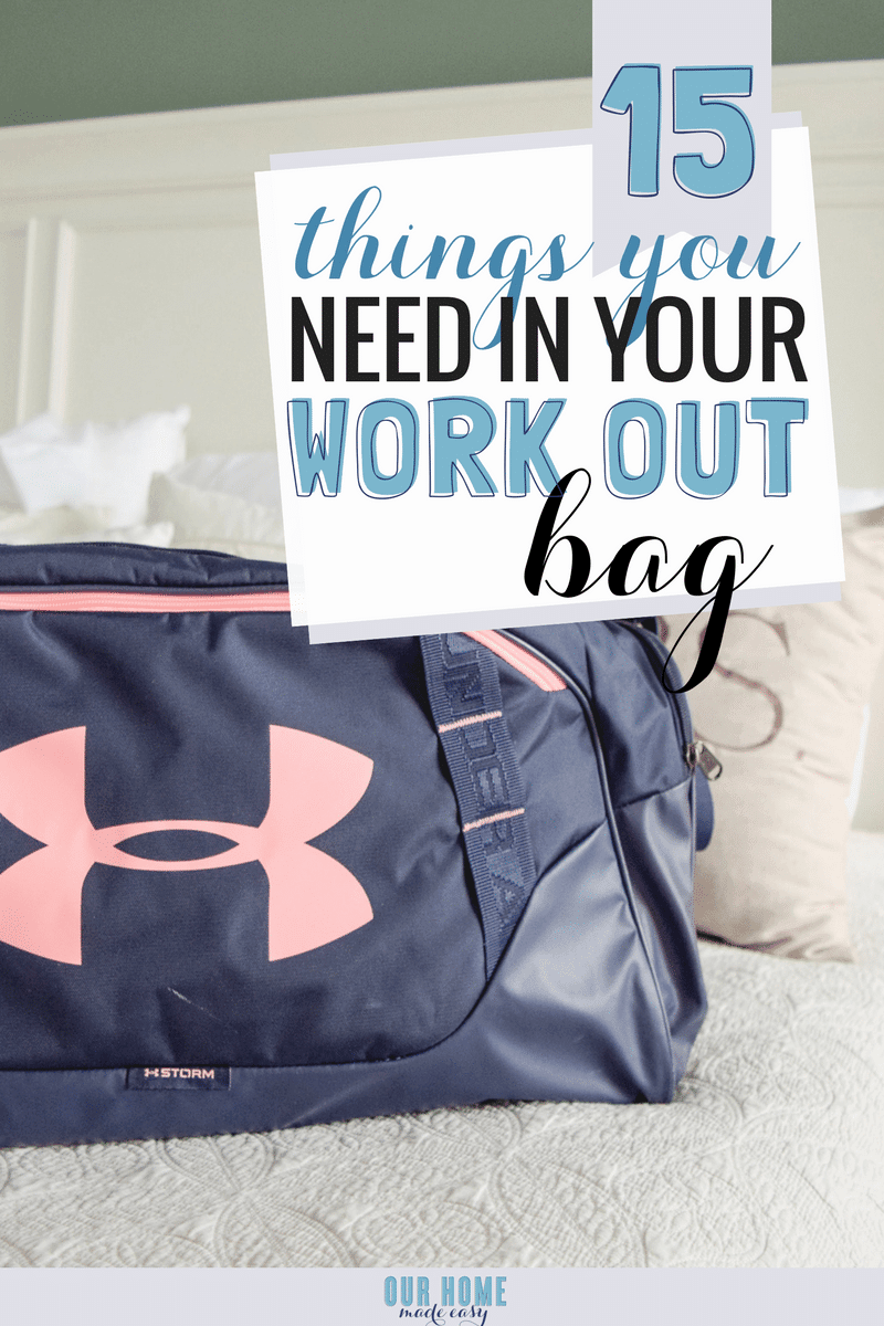 Running to the office after a work-out session? Don't miss these 15 must-haves for every gym bag! Click to see what you need to go from exercising to work easily