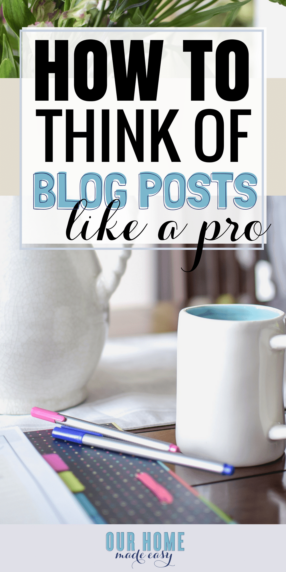 Wondering how us bloggers come up with blog post ideas? I'm sharing how you can brainstorm posts even when you can't think of something to write about! #blogging