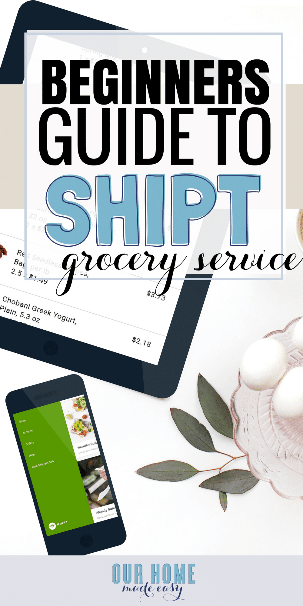 Interested in the grocery delivery service Shipt? Find out what you need to know about the service and what a Shipt experience is really like! #shipt #mealplanning #groceries #dinners #mealservice