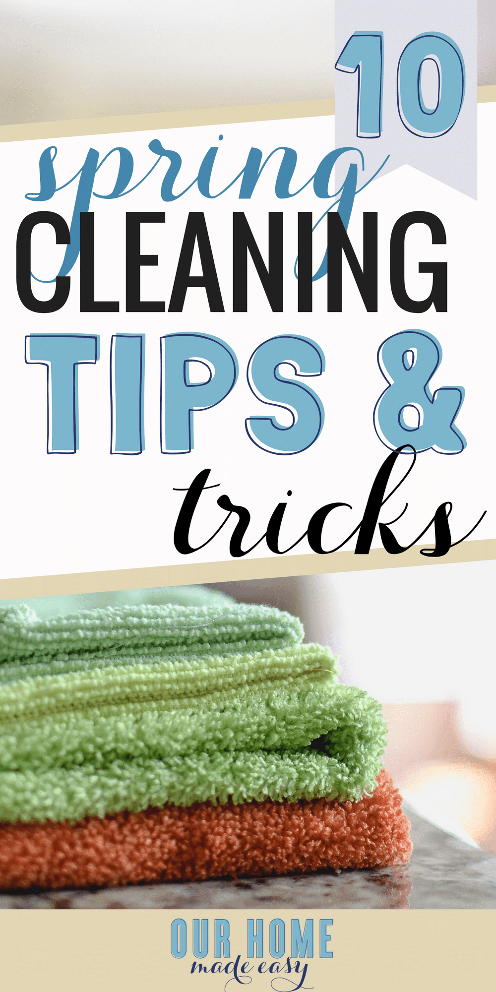 Spring Cleaning and Free Checklist