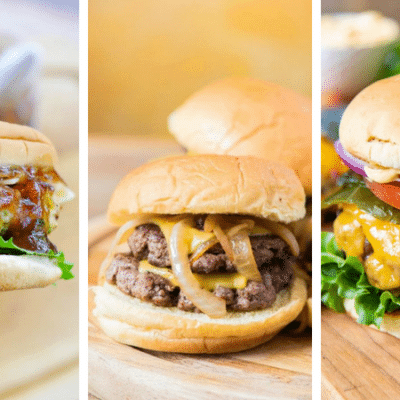 The 26 Most Amazingly Easy Burger Recipes Ever