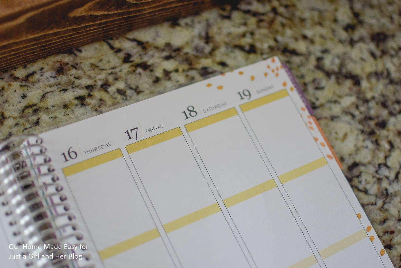 Erin Condren Vertical Planner Page