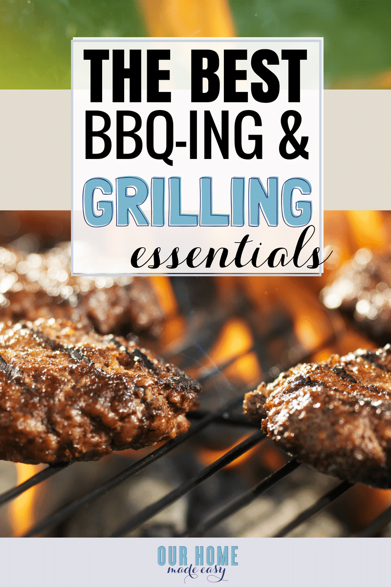 Make BBQ-ing super easy with these favorite grilling tools! #bbq #dinner #grill #summer