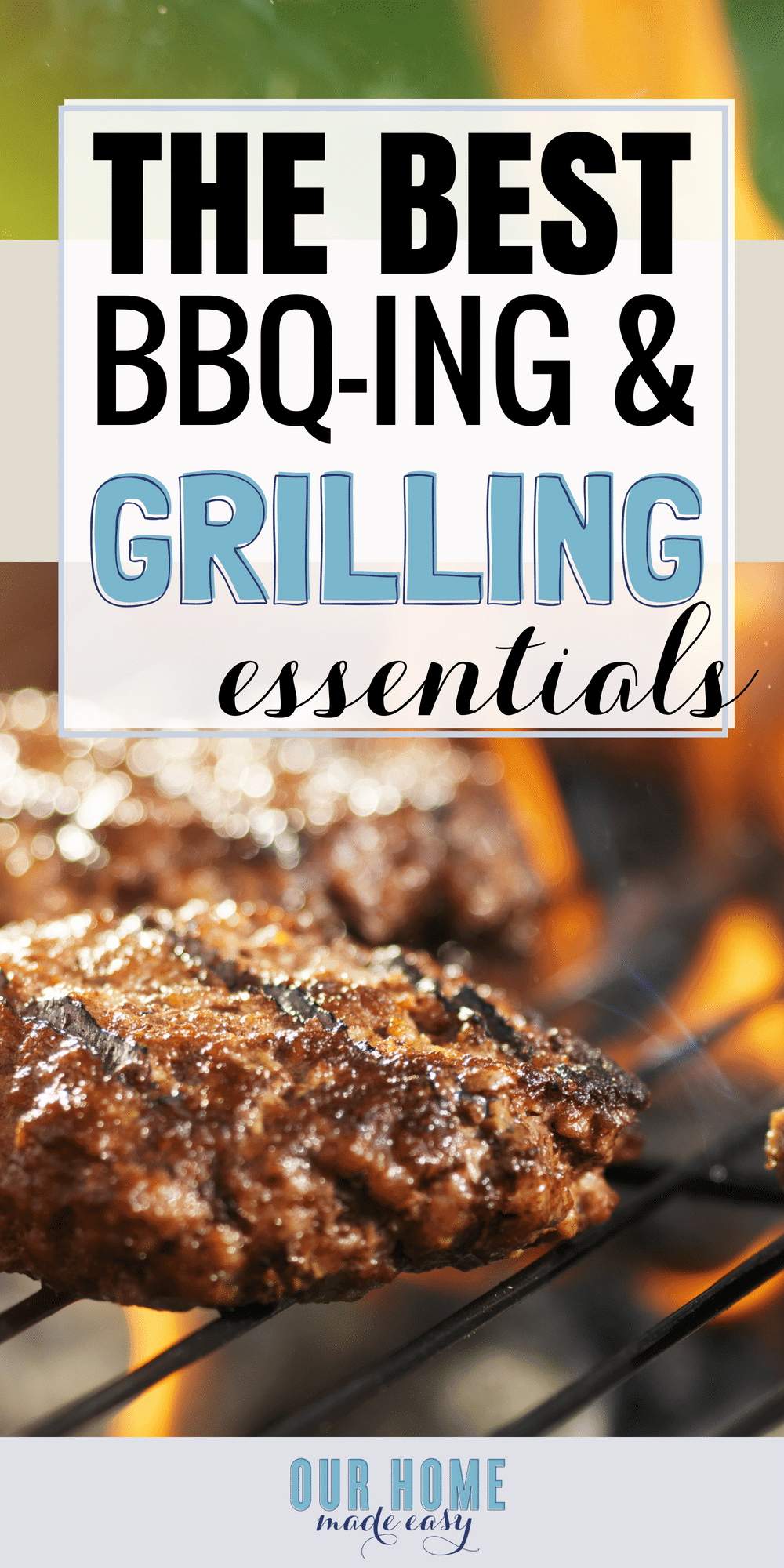 Make BBQ-ing super easy with these favorite grilling tools! #grill #bbq #summer #dinner